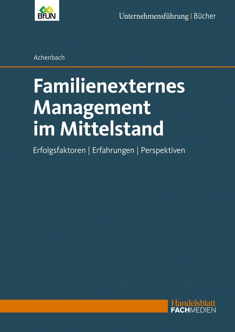 Familienexternes Management im Mittelstand (Buch)